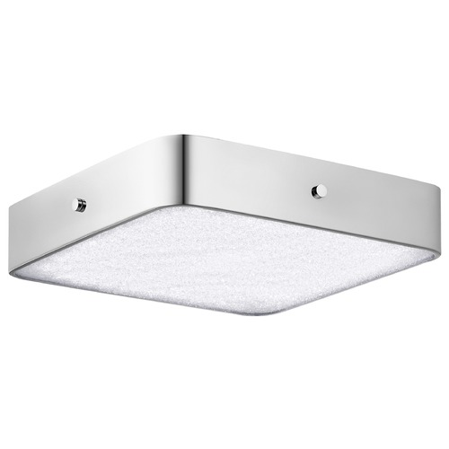 Elan Lighting Elan Lighting Crystal Moon Chrome LED Flushmount Light 83712