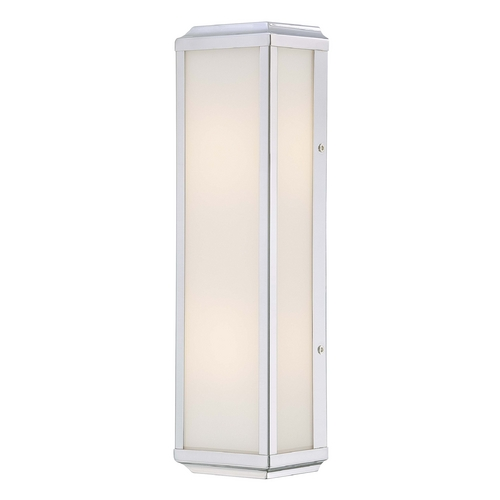 Minka Lavery Daventry Bath Polished Nickel Bathroom Light - Vertical or Horizontal Mounting 6912-613