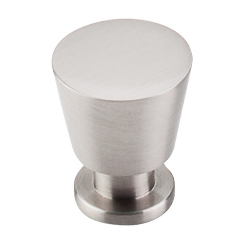 Top Knobs Hardware Modern Cabinet Knob in Brushed Satin Nickel Finish M549
