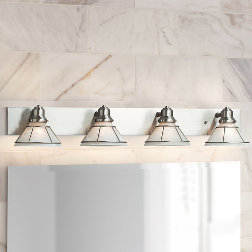 Dolan Designs Lighting Four-Light Bathroom Light 634-09