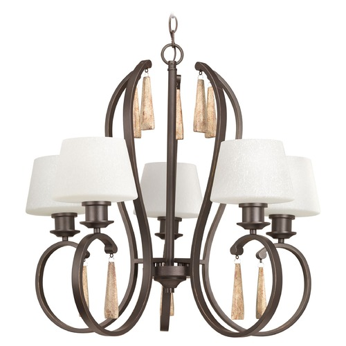 Progress Lighting Progress Lighting Club Antique Bronze Chandelier P4528-20