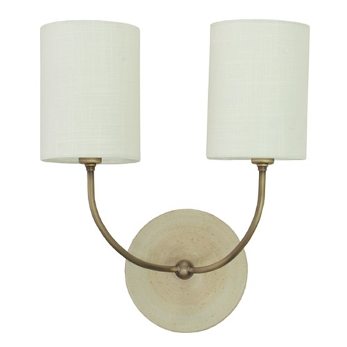House of Troy Lighting House Of Troy Scatchard Oatmeal Wall Lamp GS775-2-ABOT