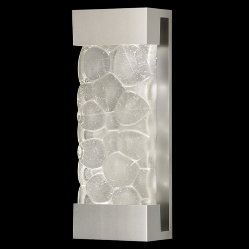 Fine Art Lamps Fine Art Lamps Crystal Bakehouse Silver Sconce 810950-24ST