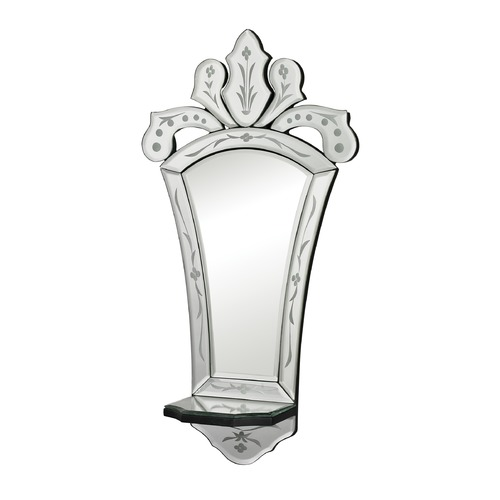 Sterling Lighting Holtshire-Mini Venetian Mirror With Shelf 114-27