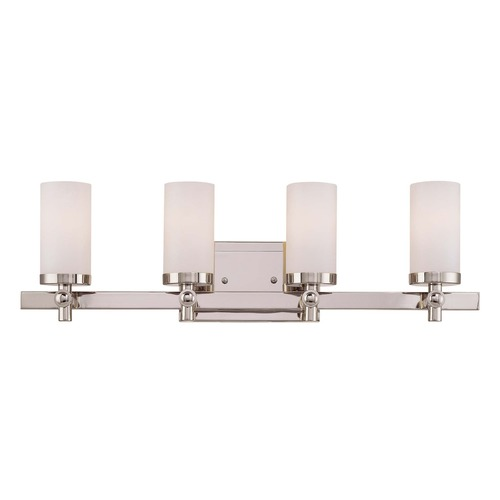 Savoy House Savoy House Polished Nickel Bathroom Light 8-1028-4-109