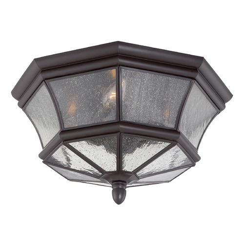 Quoizel Lighting Quoizel Newbury Medici Bronze Outdoor Ceiling Light NY1615Z