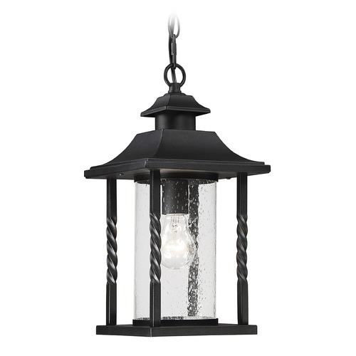 Savoy House Savoy House Lighting Dorado Black Outdoor Hanging Light 5-1232-BK
