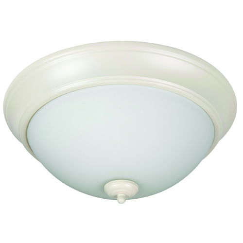 Jeremiah Lighting Jeremiah Pro Builder Flush Antique White Flushmount Light XP13AW-2W