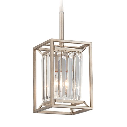 Designers Fountain Lighting Designers Fountain Linares Aged Platinum Mini-Pendant Light 87430-AP