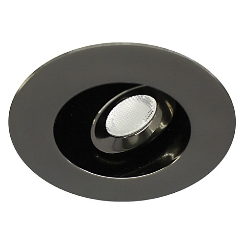 WAC Lighting WAC Lighting Ledme Miniature Recessed Gunmetal LED Recessed Trim HR-LED232R-40-GM