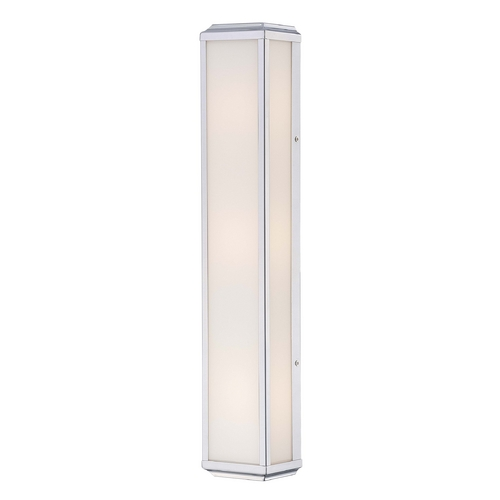 Minka Lavery Daventry Bath Polished Nickel Bathroom Light - Vertical or Horizontal Mounting 6913-613