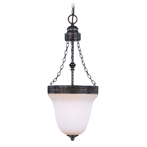 Jeremiah Lighting Jeremiah Brookshire Manor Burnished Armor Mini-Pendant Light with Bowl / Dome Shade 23623-BA