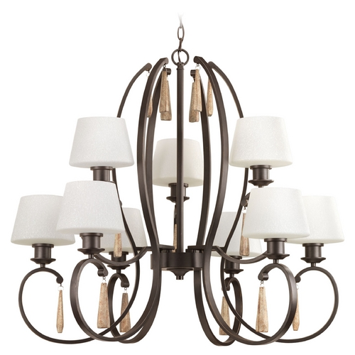 Progress Lighting Progress Lighting Club Antique Bronze Chandelier P4529-20