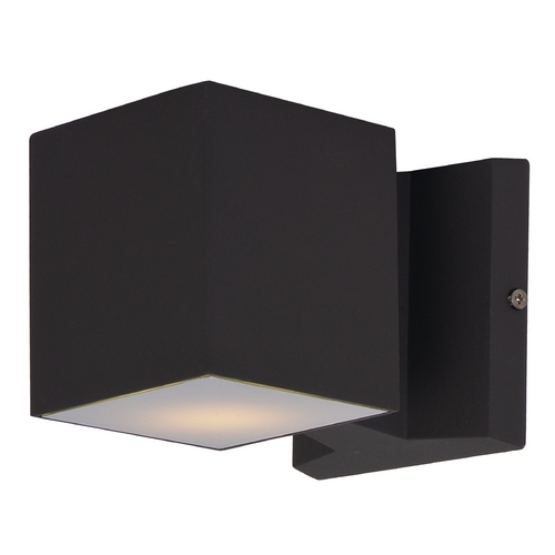 Maxim Lighting Maxim Lighting Lightray Architectural Bronze LED Sconce 86107ABZ