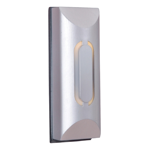 Craftmade Lighting Craftmade Lighting Tieber Brushed Nickel Doorbell Button TB1000-BN