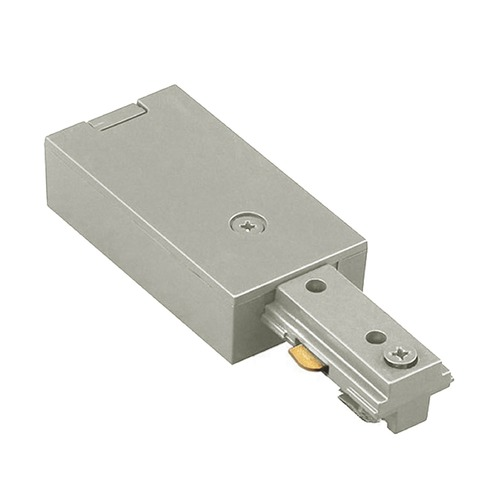 WAC Lighting WAC Lighting Brushed Nickel J Track Live End Connector JLE-BN