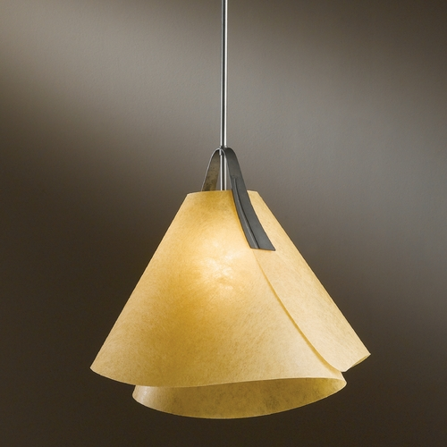 Hubbardton Forge Lighting Hubbardton Forge Lighting Mobius Dark Smoke Pendant Light 134501-07-533
