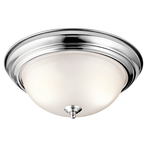 Kichler Lighting Kichler Lighting Chrome Flushmount Light 8112CH