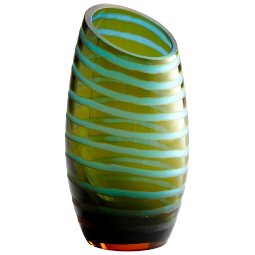 Cyan Design Cyan Design Cyan Blue & Orange Vase 00104