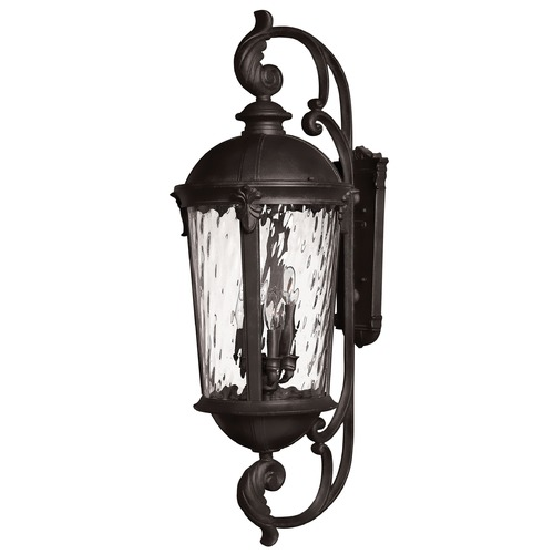 Hinkley Lighting Hinkley Lighting Windsor Black LED Outdoor Wall Light 1929BK-LED