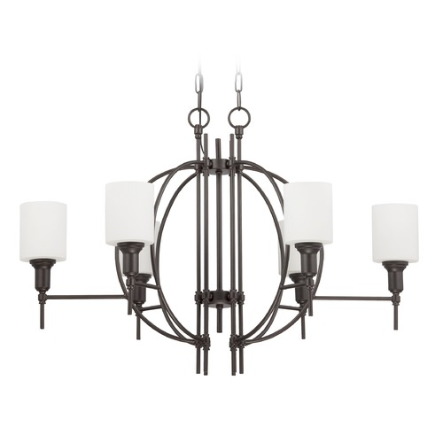 Jeremiah Lighting Jeremiah Lighting Meridian Espresso Chandelier 37276-ESP