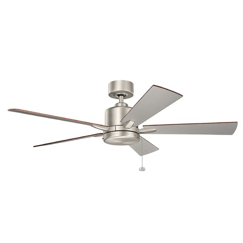 Kichler Lighting Kichler Lighting Bowen Brushed Nickel Ceiling Fan Without Light 330242NI