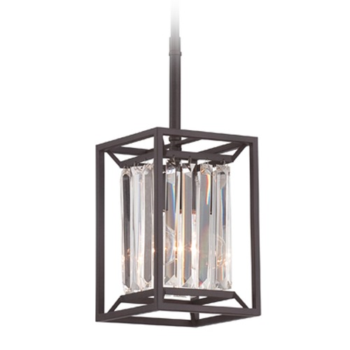 Designers Fountain Lighting Designers Fountain Linares Vintage Bronze Mini-Pendant Light 87430-VB