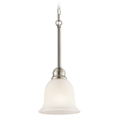 Kichler Lighting Kichler Mini-Pendant Light with White Glass 42901NI