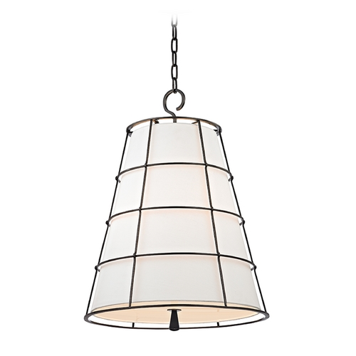 Hudson Valley Lighting Hudson Valley Lighting Savona Old Bronze Pendant Light with Empire Shade 9820-OB