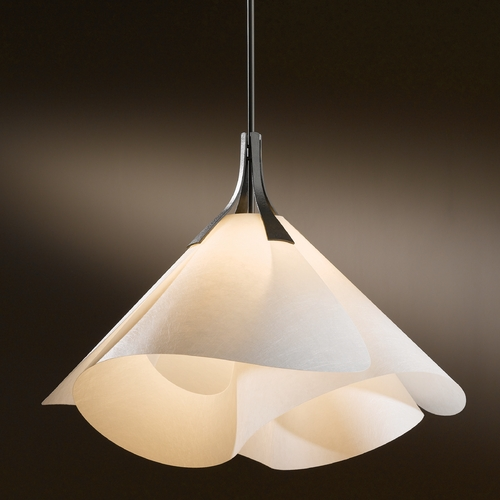 Hubbardton Forge Lighting Hubbardton Forge Lighting Mobius Dark Smoke Pendant Light 134503-07-540