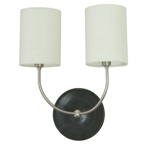 House of Troy Lighting House of Troy Scatchard Black Matte Wall Lamp GS775-2-SNBM