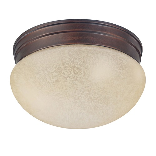 Capital Lighting Capital Lighting Burnished Bronze Flushmount Light 5376BB