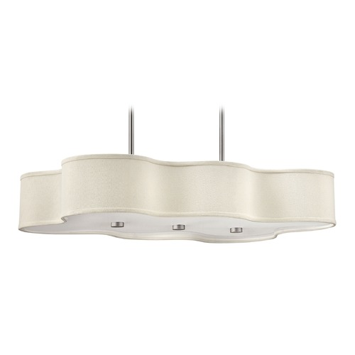 Hinkley Lighting Hinkley Lighting Cirrus Brushed Nickel LED Chandelier 3802BN-LED