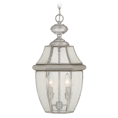 Quoizel Lighting Quoizel Newbury Pewter Outdoor Hanging Light NY1909P