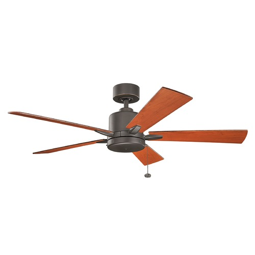 Kichler Lighting Kichler Lighting Bowen Olde Bronze Ceiling Fan Without Light 330242OZ