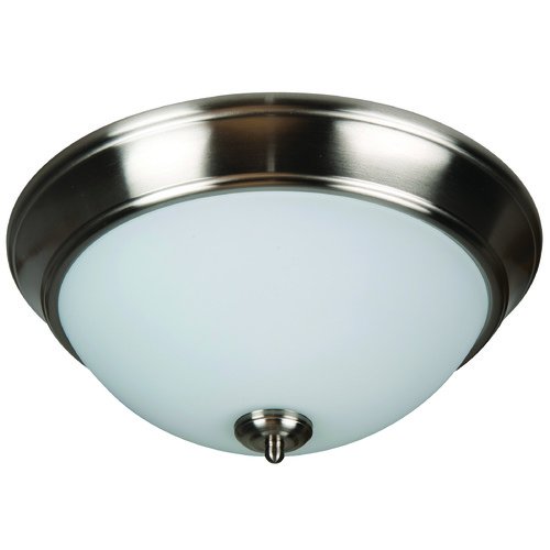 Jeremiah Lighting Jeremiah Pro Builder Flush Brushed Polished Nickel Flushmount Light XP13BNK-2W