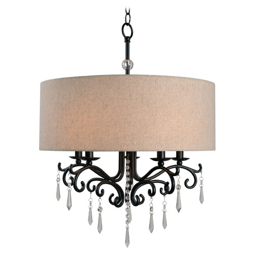 Kenroy Home Lighting Kenroy Home Lucille Oil Rubbed Bronze Mini-Chandelier 93368ORB