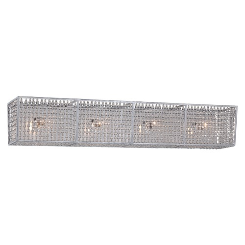 Metropolitan Lighting Metropolitan Saybrook Catalina Silver Bathroom Light N2734-598