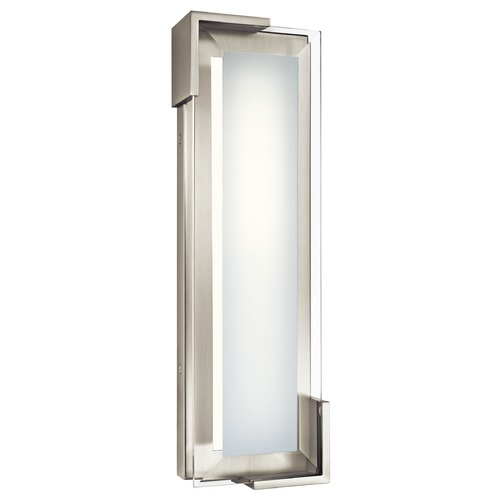Elan Lighting Elan Lighting Jaxen Brushed Nickel LED Bathroom Light 83797