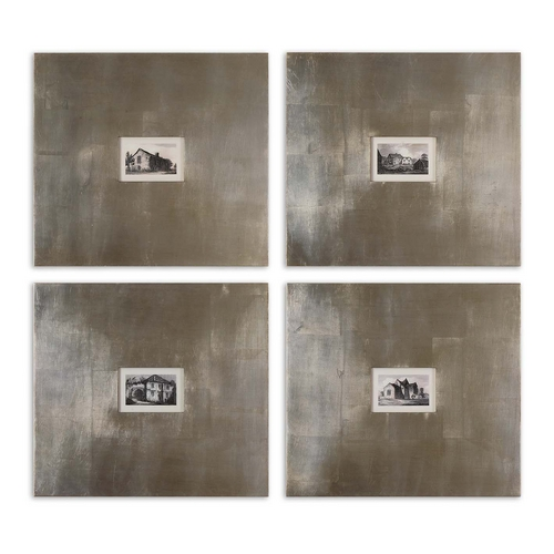 Uttermost Lighting Wall Art in Grey Finish 41295