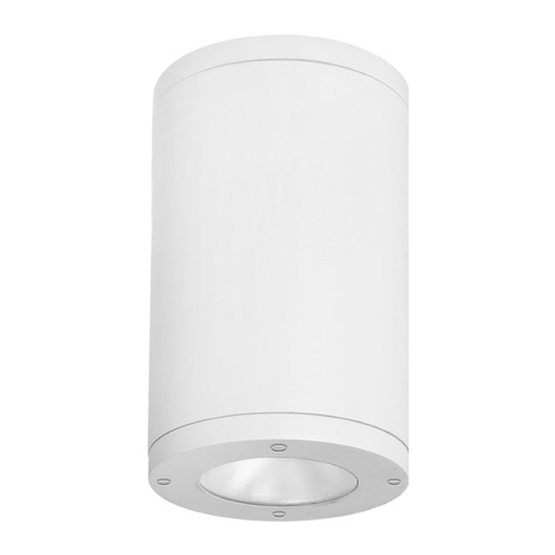 WAC Lighting 8-Inch White LED Tube Architectural Flush Mount 3000K 3770LM DS-CD08-N30-WT