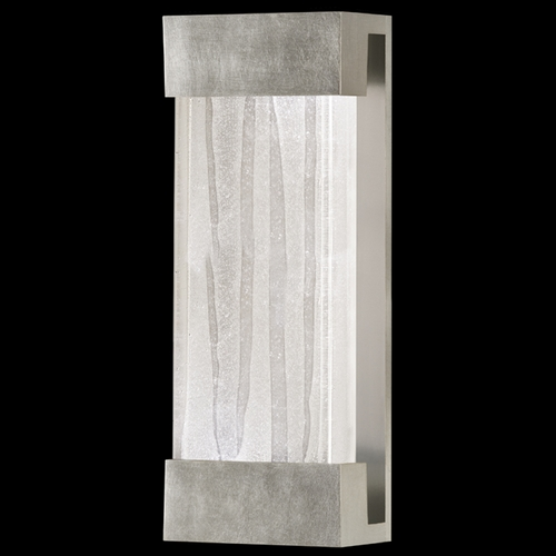 Fine Art Lamps Fine Art Lamps Crystal Bakehouse Silver Leaf Sconce 810950-33ST