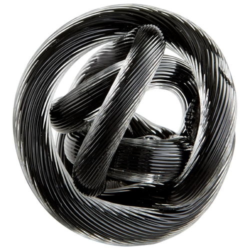 Cyan Design Cyan Design Braid Black Sculpture 06725