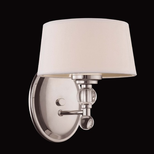 Savoy House Savoy House Polished Nickel Sconce 8-1041-1-109