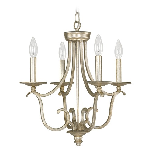 Capital Lighting Capital Lighting Bailey Winter Gold Mini-Chandelier 4724WG-000