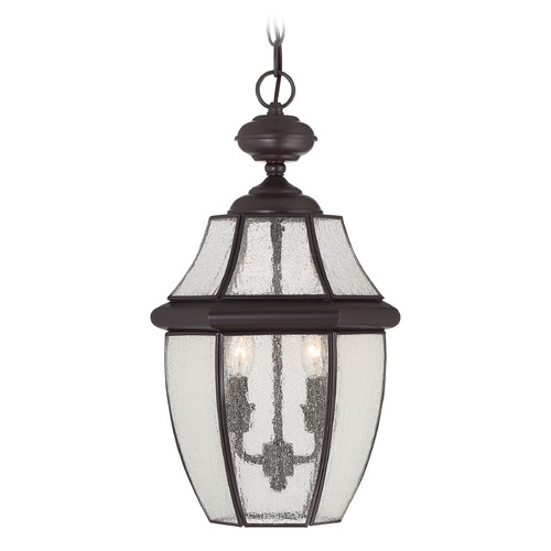 Quoizel Lighting Quoizel Newbury Medici Bronze Outdoor Hanging Light NY1909Z