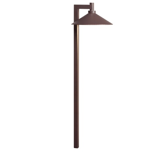 Kichler Lighting Kichler Lighting Textured Architectural Bronze LED Path Light 15800AZT27R