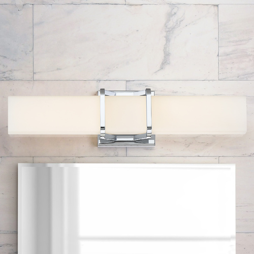 Quoizel Lighting Quoizel Lighting Platinum Axis Polished Chrome LED Bathroom Light PCAS8520C