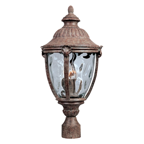 Maxim Lighting Post Light with Clear Glass in Earth Tone Finish 40281WGET