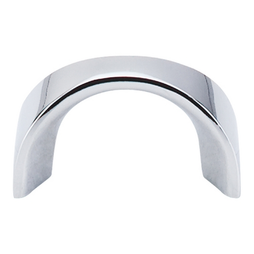 Top Knobs Hardware Modern Cabinet Pull in Polished Chrome Finish M553